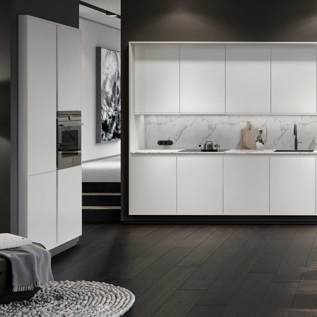 SieMatic PURE Collection - Cuisine design contemporaine minimaliste - Dotti Design, Toulouse